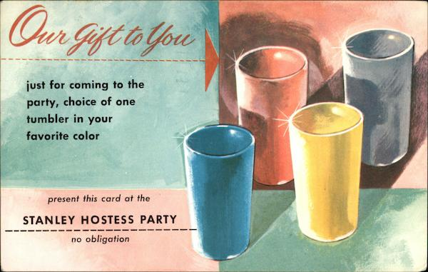 Stanley Hostess Party Advertising