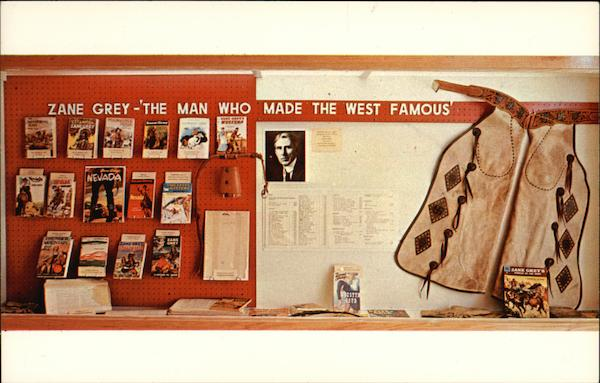 Zane Grey - The Man Who Made the West Famous Zanesville Ohio