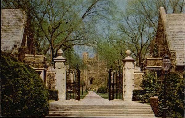 Princeton University - Gateway between Pyne Hall and Henry Hall New Jersey