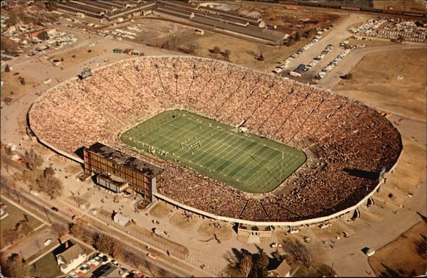 Football Stadium, University of Michigan Ann Arbor