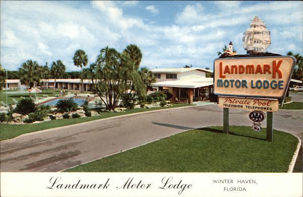 Landmark Motor Lodge And Restaurant Winter Haven Fl