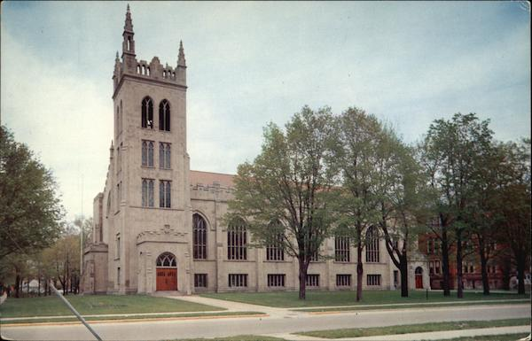 Hope Memorial Chapel Holland Michigan