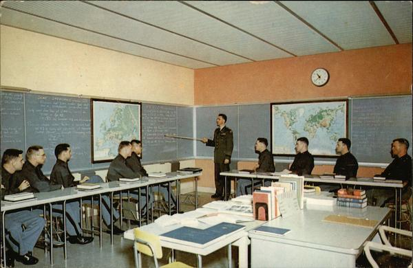 West Point Classroom New York James J. Heatley