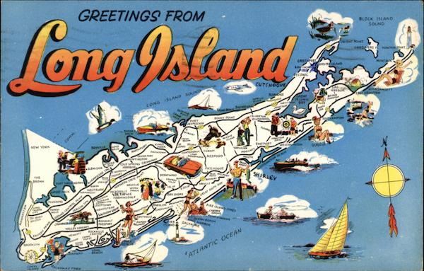 Greetings from Long Island - Vacation Paradise New York