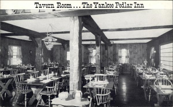 The Yankee Pedlar Inn - Tavern Room Holyoke Massachusetts