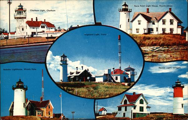 Some of Cape Cod's Most Famous Lighthouses Massachusetts