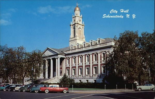 View of City Hall Schenectady New York