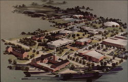 Aerial View of Anderson College Campus