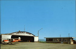 The Lawrence Airport Postcard