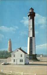 Cape Henry Lighthouse (Old and New)