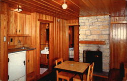 Lake Hope State Park - Interior of Sleeping Cabin