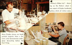 Dryden Potteries, Inc. Offers Tours With Demonstrations