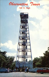 Observation Tower, 165 Ft. High, Hot Springs Mountain