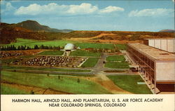 Harmon Hall, Arnold Hall, and Planitarium, US Air Force Academy