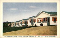 Auberge De La Colline - Motel et Lodge-Court