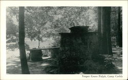 Vesper Grove Pulpit, Camp Corbly