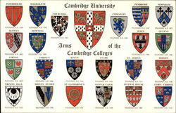 Cambridge University - Coats-of-Arms of the Cambridge Colleges