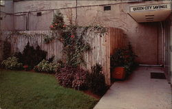 Queen City Savings and Loan Association - Garden Entrance