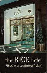 The Rice Hotel, Houston's traditional host