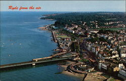 Aerial View of Town, Isle of Wight
