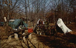 Shenandoah National Park - Boy Scouts Camping Out