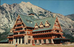 The Prince of Wales Hotel in Waterton Lakes National Park