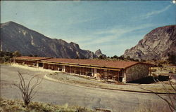 Motel - Chisos Mountain Lodge Postcard