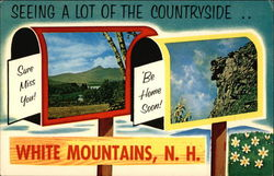 Seeing A Lot of the Countryside.... White Mountains