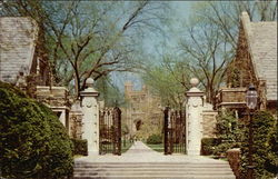 Princeton University - Gateway between Pyne Hall and Henry Hall