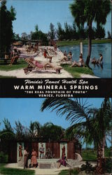 Florida's Famed Health Spa, Warm Mineral Springs
