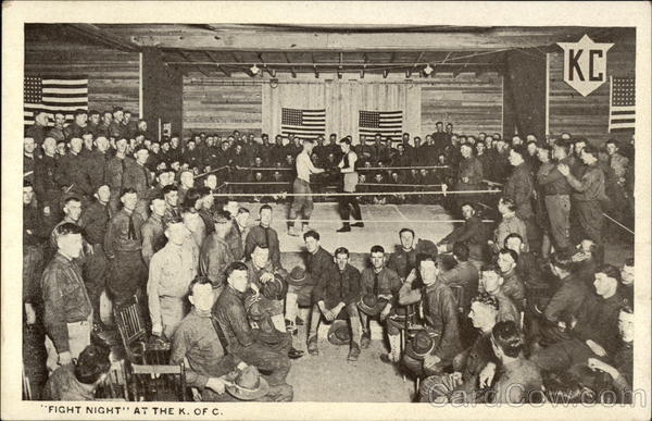 Fight Night at the K. of C Military
