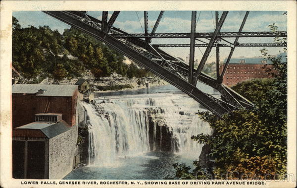 Genesee River - Lower Falls Rochester New York