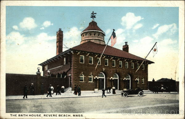 The Bath House Revere Beach Massachusetts