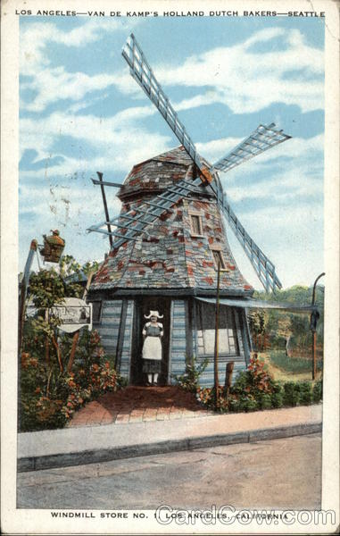 Windmill Store No. 1 Los Angeles California