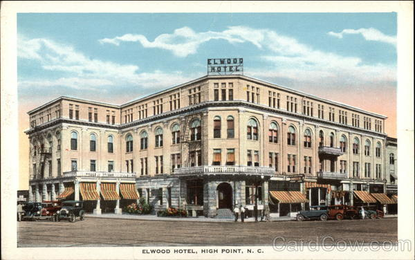 Elwood Hotel High Point North Carolina