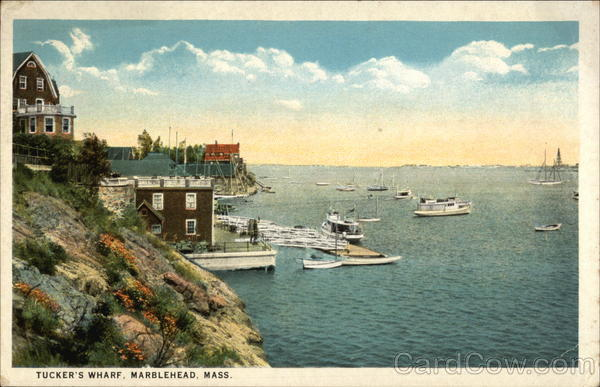 Tucket's Wharf Marblehead Massachusetts