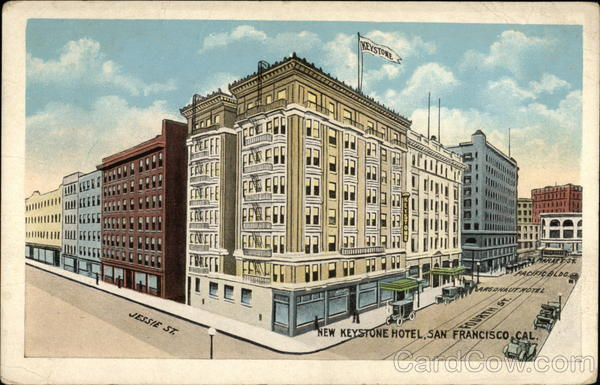 New Keystone Hotel San Francisco California