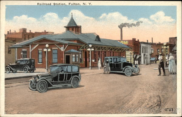 Railroad Station Fulton New York