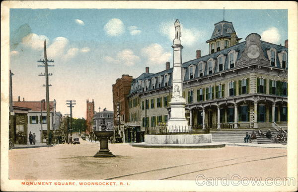Monument Square Woonsocket Rhode Island