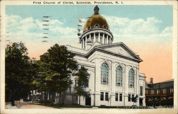 First Church of Christ, Scientist Providence Rhode Island