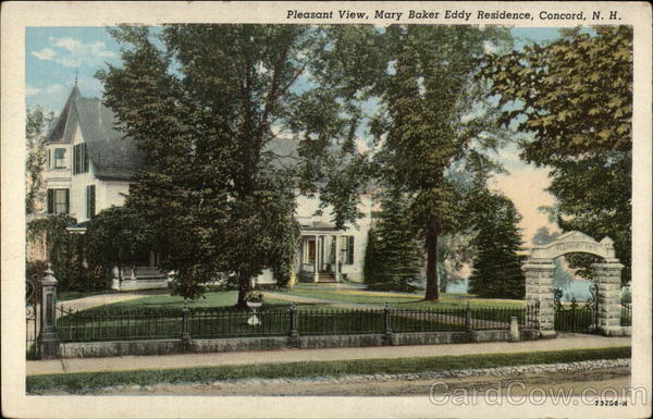 Pleasant View, Mary Baker Eddy Residence Concord New Hampshire