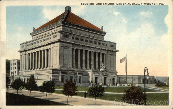 Soldiers' and Sailors' Memorial Hall Pittsburgh Pennsylvania