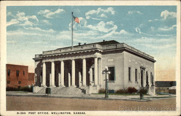 Post Office Wellington Kansas