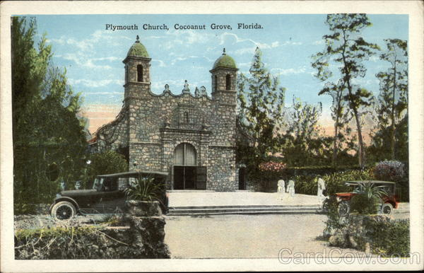 Plymouth Church Cocoanut Grove Florida