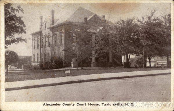 Alexander County Court House Taylorsville North Carolina
