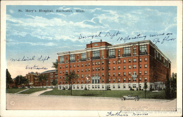 St. Marys Hospital Rochester Minnesota