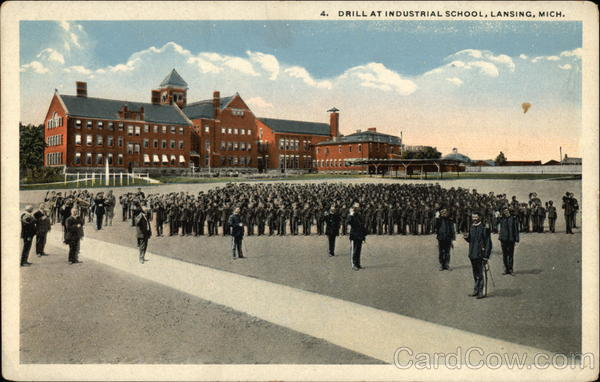Drill at Industrial School Lansing Michigan