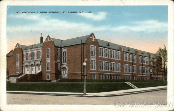 St. Anthony's High School St. Louis Missouri