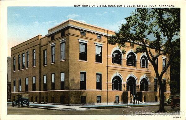 New Home of Little Rock Boy's Club Arkansas
