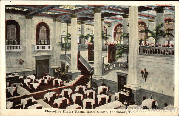 Florentine Dining Room: Florentine Dining Room, Hotel Gibson Cincinnati, OH